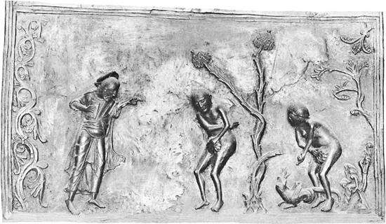 Adam and Eve from Hildesheim
