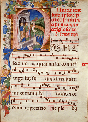 A Fine Medieval Manuscript